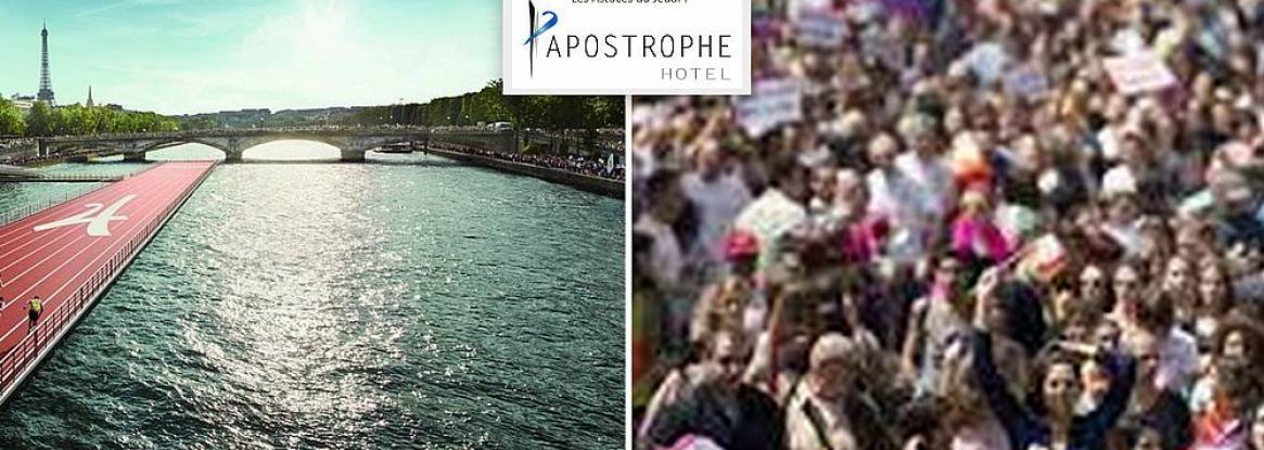 Gay pride and ephemeral olympic games in Paris!